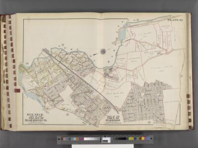 Westchester, V. 1, Double Page Plate No. 32 [Map bounded by Town of Mamaroneck, Union Ave., Nelson Ave., Harrison Ave., Stony Creek]