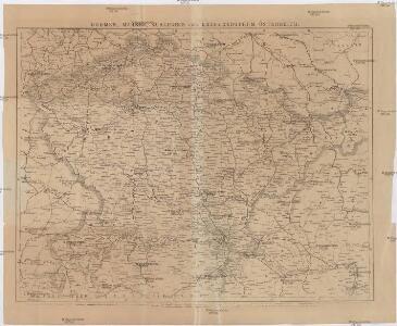 Böhmen, Mähren, Schlesien und Erzherzogthum Österreich