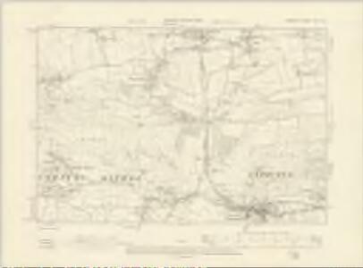Somerset XVII.SE - OS Six-Inch Map