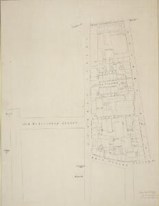 Plan of the Property between Swallow Street and and King Street and from Baker Street to Major Foubert's Passage