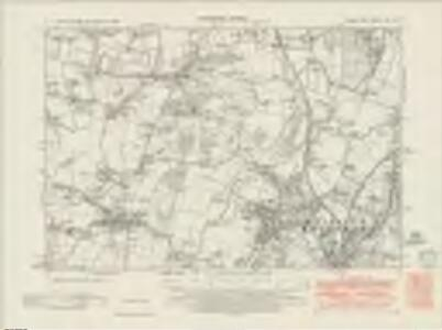 Sussex XIII.NE - OS Six-Inch Map