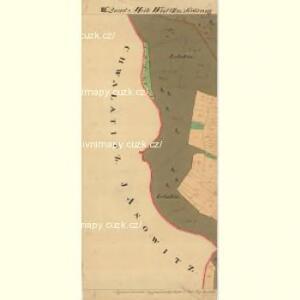 Landschau - m1467-1-009 - Kaiserpflichtexemplar der Landkarten des stabilen Katasters