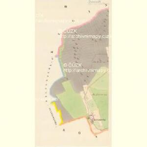 Drösowitz - c7494-1-003 - Kaiserpflichtexemplar der Landkarten des stabilen Katasters