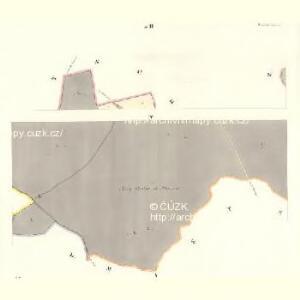 Tinischt (Tinisst) - c8155-1-004 - Kaiserpflichtexemplar der Landkarten des stabilen Katasters