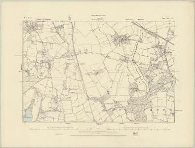Worcestershire XLI.SE - OS Six-Inch Map