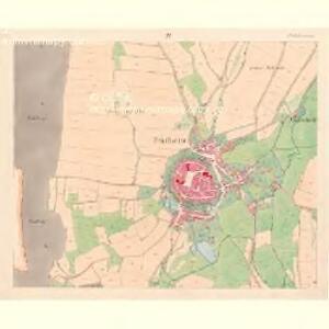 Prachatitz (Prachatice) - c6076-1-004 - Kaiserpflichtexemplar der Landkarten des stabilen Katasters