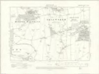 Berkshire IX.NW - OS Six-Inch Map