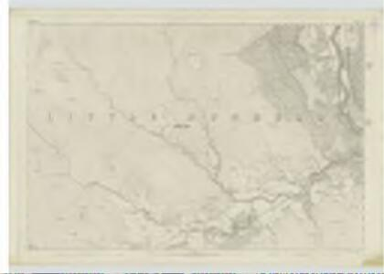 Perthshire, Sheet LXI - OS 6 Inch map