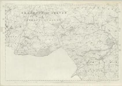 Yorkshire 184 - OS Six-Inch Map