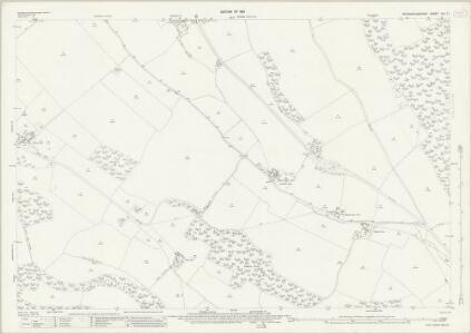 Buckinghamshire XLI.11 (includes: Bledlow cum Saunderton; High Wycombe; Radnage; West Wycombe Rural) - 25 Inch Map
