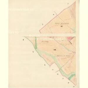 Unter Bojanowitz - m0481-1-008 - Kaiserpflichtexemplar der Landkarten des stabilen Katasters