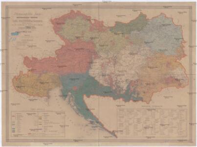 Ethnographische Karte der Oesterreichischen Monarchie
