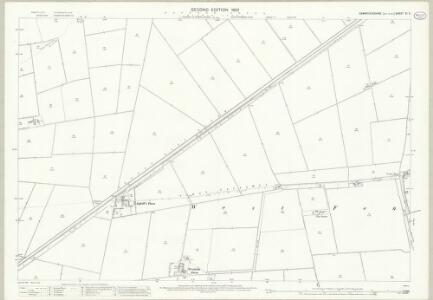 Cambridgeshire XI.11 (includes: Elm; March) - 25 Inch Map