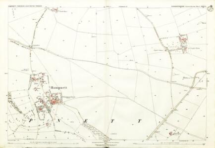 Gloucestershire XXXVI.6 (includes: Hampnett; Northleach With Eastington; Turkdean) - 25 Inch Map