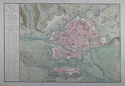Nouveau plan de la ville de Metz