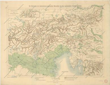Der südwesten der Österreichis - ungarischen Monarchie mit den angrenzenden Gebieten