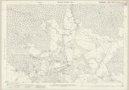 Herefordshire XLVII.15 (includes: Linton; Newent; Oxenhall; Upton Bishop) - 25 Inch Map