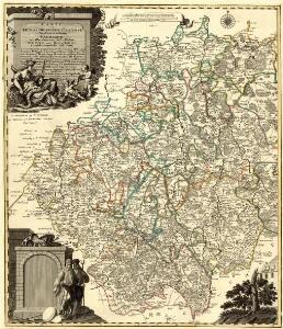 Carte von Ertzgebürgischen Creysse in Churfurstenthum Sachssen