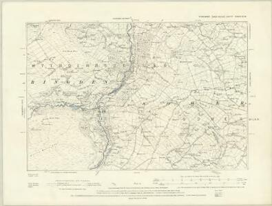 Yorkshire CCXXIX.NE - OS Six-Inch Map