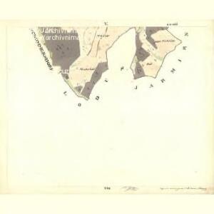 Pernlesdorf - c4854-1-005 - Kaiserpflichtexemplar der Landkarten des stabilen Katasters