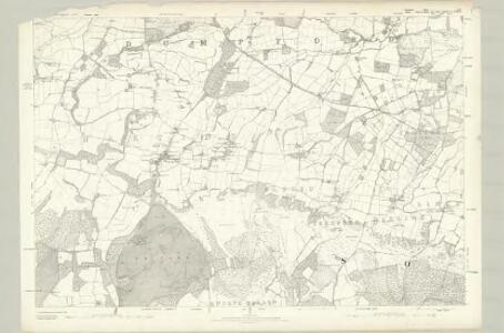 Hampshire & Isle of Wight LXI - OS Six-Inch Map