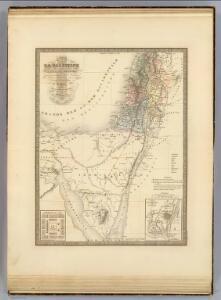 Palestine, l'Arabie Petree.