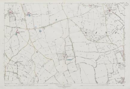 Somerset XI.12 (includes: Butcombe; Nempnett Thrubwell; Winford) - 25 Inch Map
