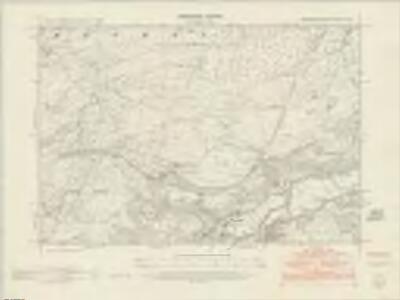 Merionethshire XI.NE - OS Six-Inch Map