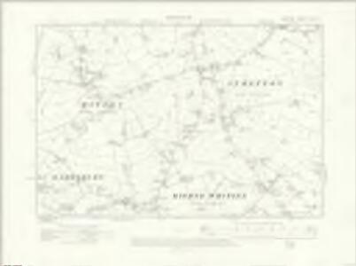 Cheshire XXV.NE - OS Six-Inch Map
