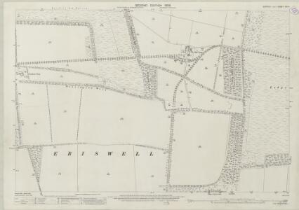 Suffolk XXI.3 (includes: Eriswell) - 25 Inch Map