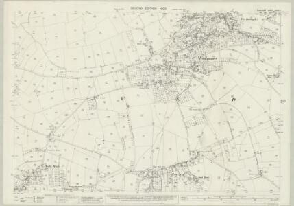 Somerset XXXIX.4 (includes: Wedmore) - 25 Inch Map