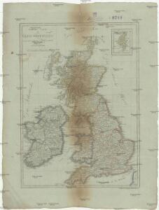 General Carte von Gross Britannien