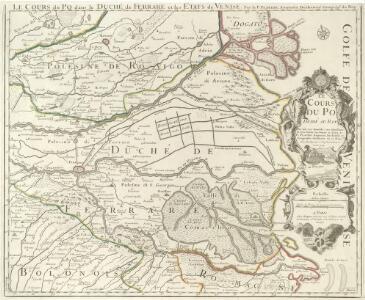 Le Cours du Po dans le Duché de Ferrare et les Etats de Venise