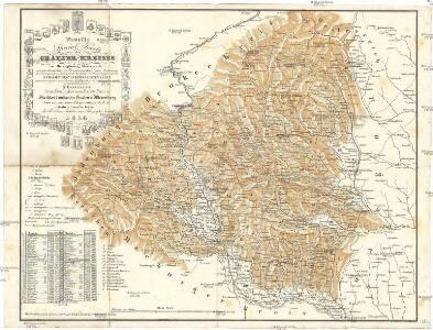 Neueste special Karte des Gratzer Kreises im Herzogthume Steyermark