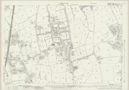 Lancashire CXIA.7 (includes: Cheadle And Gatley; Manchester) - 25 Inch Map