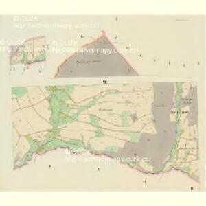 Deschney (Dessney) - c1092-1-002 - Kaiserpflichtexemplar der Landkarten des stabilen Katasters