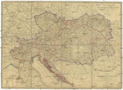 Karte der Oesterrechischen Monarchie