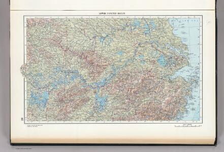 119.  Lower Yangtze Region.  The World Atlas.