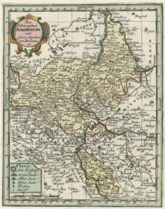Das Hertzogthum Magdeburg mit seinen abgetheilten Provintzien