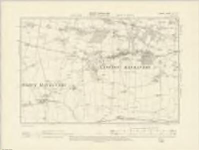 Dorset LVI.SE - OS Six-Inch Map