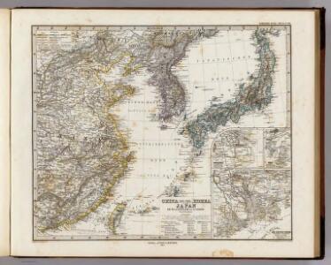 China (Ostl. Theil), Korea Und Japan.