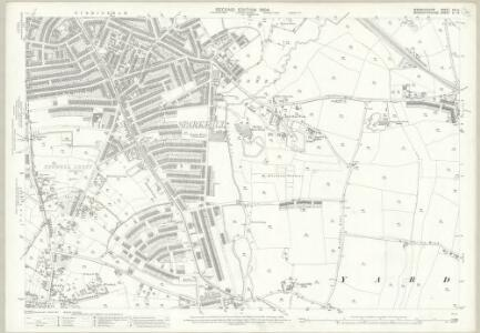 Warwickshire XIV.14 (includes: Birmingham) - 25 Inch Map