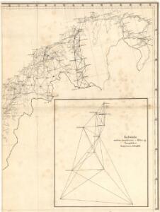 Trigonometrisk grunnlag, vedlegg 68d: Kart over de trigonometriske Hovednet
