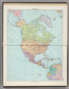179-180.  North America, Political.  The World Atlas.