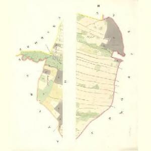 Siebenhöfen (Sedmidwory) - m2709-1-003 - Kaiserpflichtexemplar der Landkarten des stabilen Katasters