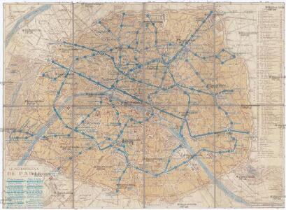 Le métropolitain de Paris