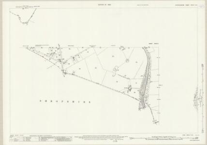 Staffordshire XXVIII.7 (inset XXVIII.5) (includes: Sutton Upon Tern; Tyrley) - 25 Inch Map