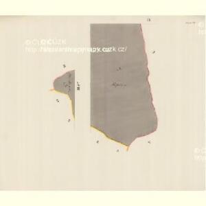 Branek (Branky) - m0204-1-007 - Kaiserpflichtexemplar der Landkarten des stabilen Katasters