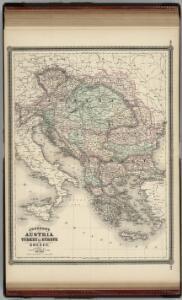 Austria, Turkey in Europe, and Greece.