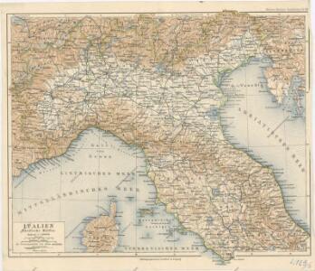 Italien. Nördliche Hälfte
